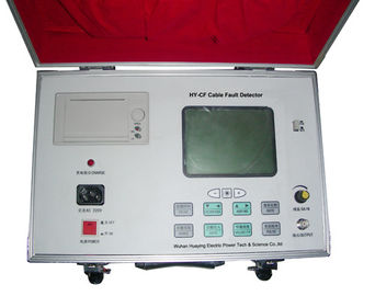China LCD Screen Power Cable Fault Finder Ground Fault Locator Equipment Accurate Data supplier