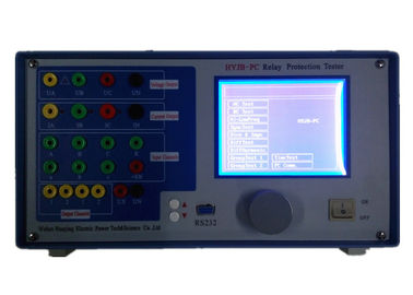 China 3 Phase Relay Protection Tester Secondary Injection Test Equipment USB Interface supplier