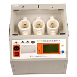 China Three Vessels Transformer Oil Testing Equipment Insulating Oil Tester ASTMD18165 supplier