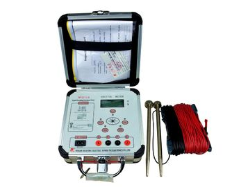 China Light Weight Low Resistance Digital Earth Resistance Tester With ISO Approve supplier