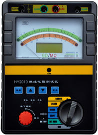 China 1000V 2500V Megger Insulation Tester With Real Time Industrial Microcomputer Operating System supplier