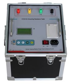 China Anti Jamming Earth Resistance Meter 3A Electrical Ground Testing Equipment supplier