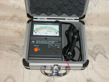 China High Voltage C Type Megger Insulation Tester 5000V 2500V With ISO Ceritificate supplier