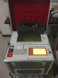 China LCD Screen Insulating Oil Tester Measure Breakdown Voltage Of Transformer Oil supplier