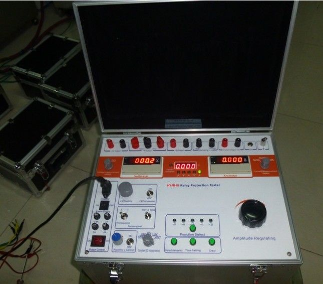 Single Phase Relay Test Set Electrical Protection Relay Testing Kit
