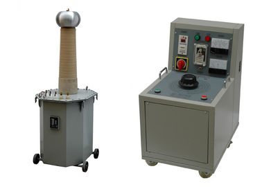 China Electrical Safety 220V Hipot Test Set Low Frequency 15KVA to 300KVA Capacity distributor