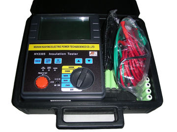 China Digital Megger Hand Driven Insulation Tester Multifunction Electrical Insulation Test Equipment distributor